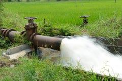Wasser für die Landwirtschaft Stockfotos