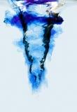 Wasserstrudelturbulenz Lizenzfreies Stockfoto