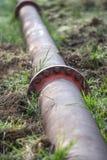 Wassersystem an hambach Deutschland Tagesbergbau der Kohle lizenzfreie stockfotografie