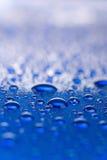 Wassertröpfchen. Stockfoto