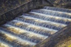 Wassertreppe Stockfoto