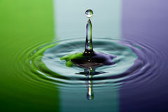 Wassertropfen Stockbild