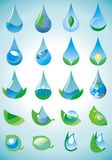 Wassertropfen vektor abbildung
