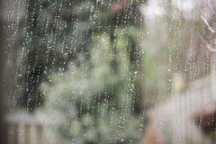 Wassertropfen auf einem Glas von Lizenzfreies Stockfoto