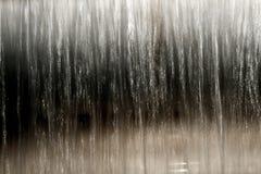Wassertropfen in einem Fluss Lizenzfreies Stockbild