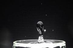 Wassertropfenabschluß herauf Bild Stockfoto