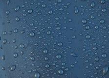 Wassertropfenhintergrund Stockfotografie