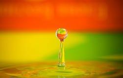 Wassertropfenspritzen Lizenzfreie Stockfotografie