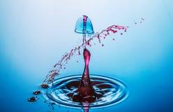 Wassertropfenzusammenstoß Lizenzfreie Stockfotografie
