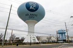 Wasserturm in Atlantic City Lizenzfreie Stockbilder