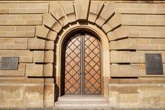 Wasserturm Door, Mannheim Stock Photography