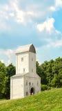 Wasserturm in Kolomenskoe weiß Moskau, Stockfotos
