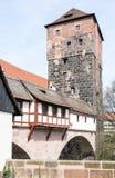 Wasserturm in Nuremberg Royalty Free Stock Photo