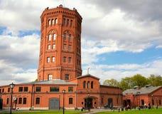 Wasserturm, St Petersburg, Russland (Vodokanal-Museum) Lizenzfreie Stockfotografie