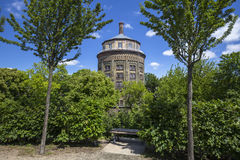 Wasserturm (water tower), Berlin-Prenzlauer Berg. Royalty Free Stock Images