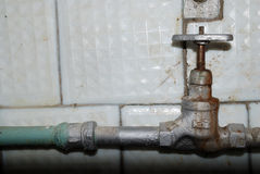 Wasserventil Lizenzfreies Stockfoto