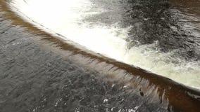 Wasserverdammung stock footage
