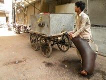Wasserverkäufer Stockbild