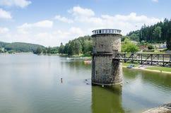 Wasserversorgung Luhacovice, Tschechische Republik Stockfotografie