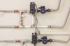 Wasserversorgungsknoten für das Haus Stockfoto