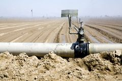 Wasserverteilung Lizenzfreies Stockbild