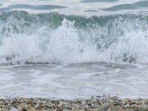 Wasserwellen stockbild