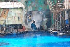 Wasserweltshow Lizenzfreies Stockfoto