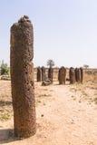 Wassu in gambia. The Wassu laterite stone circles in The Gambia stock photos