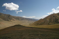 Wast deserted mountains Stock Photo