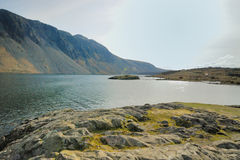 Wast Water. Looking West on Wast Water Stock Photos