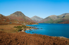 Wast Water in Autumn Stock Images