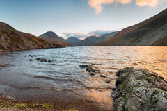 Wast Water in Cumbria Stock Image