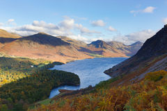 Wast Water in Cumbria, UK Royalty Free Stock Photos