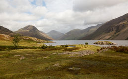 Wast water in english lake district Stock Photos