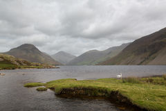Wast water in english lake district Royalty Free Stock Image