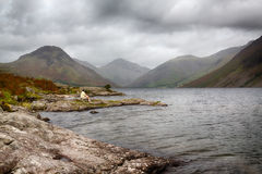 Wast water in english lake district Royalty Free Stock Photos