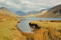 Wast Water - Lake District. Looking East on Wast Water Stock Photo