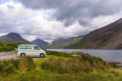 Wast Water in Lake District royalty free stock photos