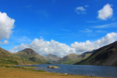 Wast water, Lake District, UK, England. Nature of the UK, Lake District, the journey to England, mountain lake, mountain landscape, nature england Royalty Free Stock Photography