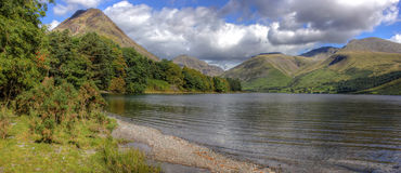 Wast water, Lake District, UK, England stock photos