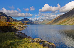 Wast Water Mountain Views Stock Photography