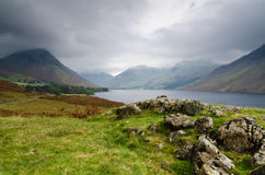Wast Water storm Stock Photos