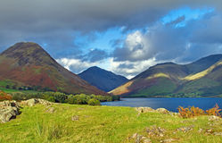 Wast Water Storm Clouds Stock Photos