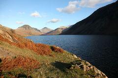 Wast Water in Winter Royalty Free Stock Photography
