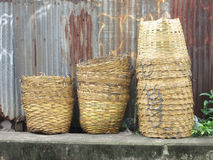 Waste basket in Thailand Royalty Free Stock Photography