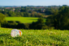 Waste on a beautiful english hill Royalty Free Stock Images