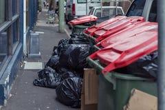 Waste bin stock photos