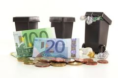 Waste collection fees Stock Photos