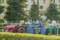 Waste collection Royalty Free Stock Photo