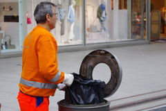 Waste Collector Royalty Free Stock Photo